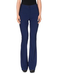 D.Exterior Trousers Casual Trousers Women Dark Blue
