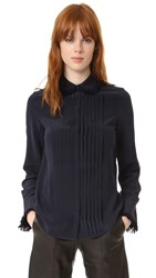 Zadig And Voltaire Tenri Fringed Blouse Ink