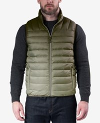 Hawke And Co. Outfitter Men's Weather Resistant Vest Ombre Loden