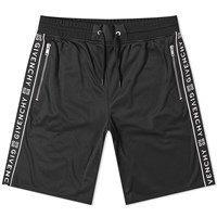 Givenchy Taped Sports Short Black
