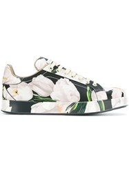 Dolce And Gabbana 'Portofino' Sneakers Multicolour