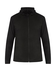Mover Hooded Base Layer Merino Wool Sweatshirt Black