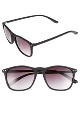 Men's Topman Rubberized 53Mm Sunglasses