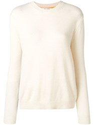 Chinti And Parker Contrasting Panels Jumper Neutrals