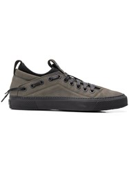 Bruno Bordese Lace Up Detailed Sneakers Grey