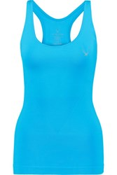 Lucas Hugh Technical Knit Stretch Tank Turquoise