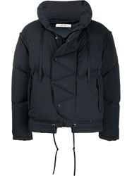 Damir Doma Padded Hooded Jacket Black