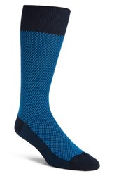 Nordstrom Shop Ultra Soft Textured Socks Navy Blue