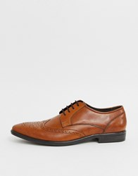 Pier One Formal Brogues In Brown