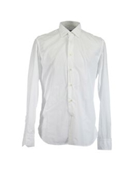 G.V. Conte Long Sleeve Shirts White