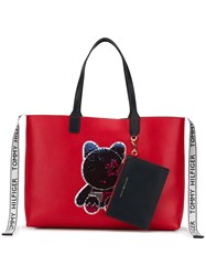Tommy Hilfiger Iconic Tote Red