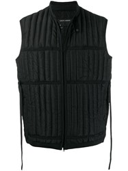 Craig Green Quilted Down Gilet Black