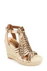 Vc Signature 'Danessa' Wedge Sandal Women Metallic