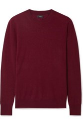 Joseph Cashmere Sweater Burgundy