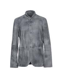 John Varvatos Overcoats Grey