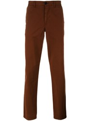 Paul Smith Ps By Classic Chinos Brown