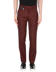 Christian Dior Homme Casual Pants Maroon