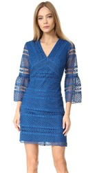 Shoshanna Sacramento Dress Indigo