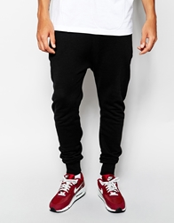 Blood Brother Sweatpants With Zip Detail Black