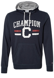 Champion Hoodie New Navy Oxford Grey Dark Blue