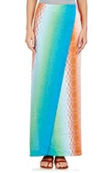 Missoni Crossover Maxi Skirt Blue Size 38 It