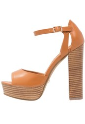 Primadonna Collection High Heeled Sandals Light Brown