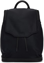 Rag And Bone Black Nylon Pilot Backpack