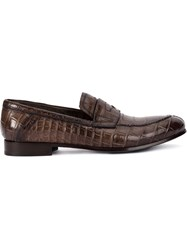 Raparo Formal Loafers Brown