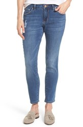 Jag Jeans Women's Mera Skinny Ankle Mineral Wash