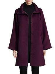 Eileen Fisher Suri Alpaca Blend Coat Raisonette