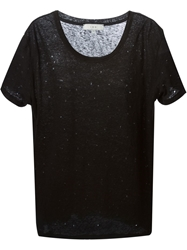 Iro Short Sleeve T Shirt Black