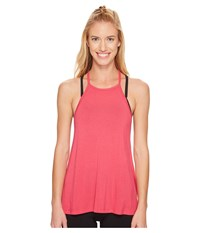 Beyond Yoga Lay Low Tank Top Sunset Rose Women's Sleeveless Pink