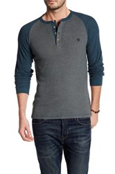 Timberland Long Sleeve Slim Fit River Henley Green