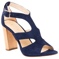 Unisa Wiron Block Heeled Sandals Ocean