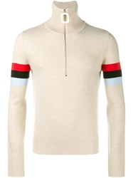J.W.Anderson J.W. Anderson Zipped Jumper Nude And Neutrals