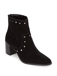 Saks Fifth Avenue Talan Leather Booties Black