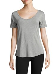 Candc California Heathered Short Sleeve Sleep Tee Grey