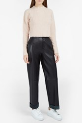 Rachel Comey Dash Cropped Sweater Pink