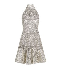 Zimmermann Tiered Bow Neck Dress Female Multi