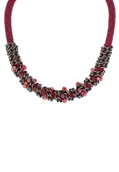 Anna Field Necklace Red