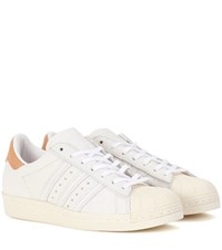 Adidas Superstar 80S Leather Sneakers White