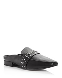 Sol Sana Women's Renold Studded Leather Mules Black Silver