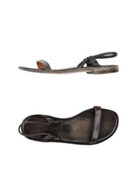 Preventi Sandals Dark Brown