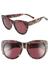 Raen Women's Durante 53Mm Retro Sunglasses Wren