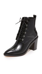 Zimmermann Lace Up Dress Booties Black