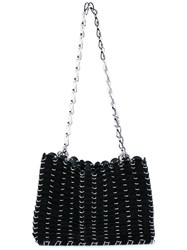 Paco Rabanne Chainmail Shoulder Bag Black