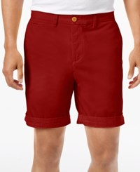 Tommy Hilfiger Custom Fit Chino Shorts Apple Red