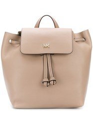 Michael Michael Kors Lo Backpack Nude And Neutrals