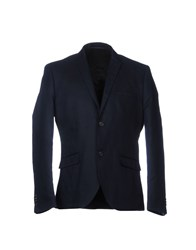 Suit Blazers Dark Blue