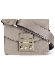 Furla Thick Strap Crossbody Bag Nude Neutrals